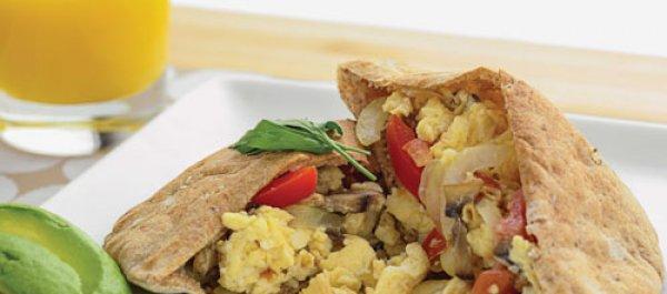 Recipe of the Week: Breakfast Pita Wrap