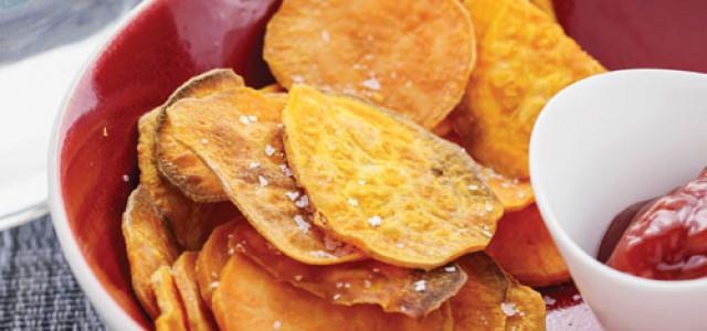 Recipe of the Week: Sweet Potato Chips