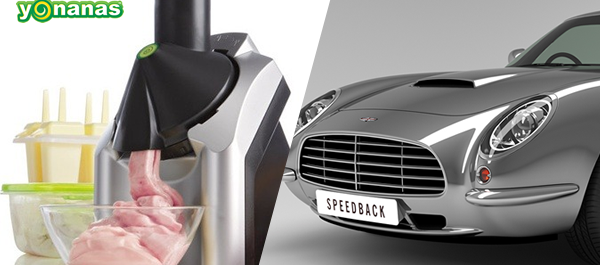 Cool Stuff of the Week: Yonanas Ice Cream, Speedback GT, Rounders, and More...