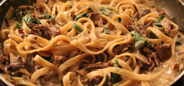 Recipe of the Week: Chicken Fettuccine With Mushrooms