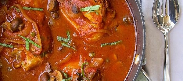Recipe of the Week: Chicken Cacciatore