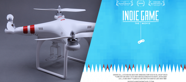 Cool Stuff of the Week: Phantom Quadcopter, Indie Game: The Movie, Coffee Cubes, and More...