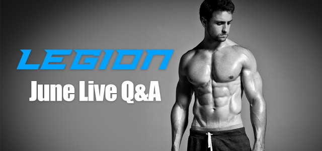 Live Q&A: My upcoming supplements, recovering from injuries, strength vs aesthetics, and more!