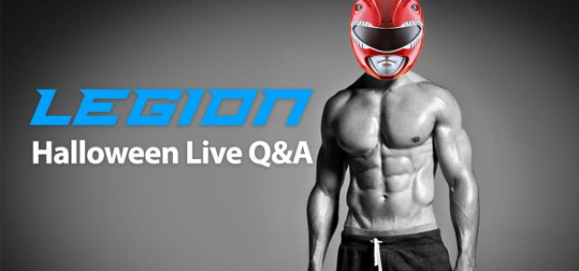 """October """"Red Ranger"""" Live Q&A (in My Halloween Costume!)"""
