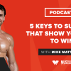 Motivation Monday: 5 Keys to Success That Show You How to Win