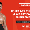 What Are the 3 Best & Worst Fat Loss Supplements?