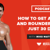How to Get a Bigger and Rounder Butt in Just 30 Days