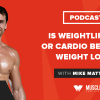 Is Weightlifting or Cardio Best for Weight Loss?