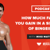How Much Fat Can You Gain in a Single Day of Bingeing?