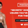 "Motivation Monday: ""Secrets"" Don't Work Unless You've Worked for Them"