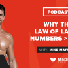 Motivation Monday: Why the Law of Large Numbers > Luck