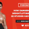 How Dangerous Is Weightlifting? What 20 Studies Have to Say
