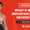 Motivation Monday: What's More Important than Necessity?