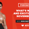 What's New and Exciting in November?