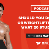 Should You Do Cardio or Weightlifting First? What 20 Studies Say