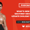 What's New and Exciting? December Update (Holiday Edition!)
