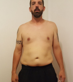 Chad P. Before Image