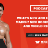 What's New and Exciting in March? New Books, Flavors, and World Records